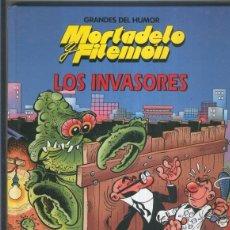 Cómics: GRANDES DEL HUMOR NUMERO 17: MORTADELO Y FILEMON: LOS INVASORES. Lote 55564044