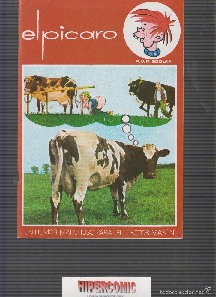 EL PICARO , HUMOR GRAFICO Y FOTOS DE CHICAS - AÑO 1983, (Tebeos y Comics Pendientes de Clasificar)