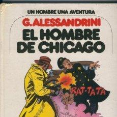 Cómics: UN HOMBRE, UNA AVENTURA NUMERO 03: EL HOMBRE DE CHICAGO (GOLPE PARTE SUPERIOR LOMO). Lote 55591719