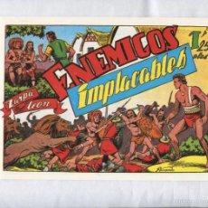 Cómics: FACSIMIL: ZARPA DE LEON NUMERO 29: ENEMIGOS IMPLACABLES. Lote 55640635