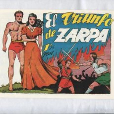 Cómics: FACSIMIL: ZARPA DE LEON NUMERO 60: EL TRIUNFO DE ZARPA. Lote 55640665