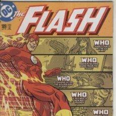 Cómics: THE FLASH NUMERO 189 (CUBIERTA ALGO ESTROPEADA PARTE SUPERIOR). Lote 55659547