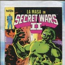 Cómics: SECRET WARS NUMERO 23: LA MASA. Lote 55661398