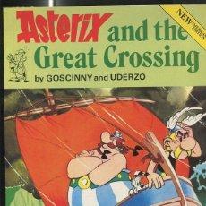 Cómics: ASTERIX AND THE GREAT CROSSING (EDICIO EN INGLES). Lote 55662421