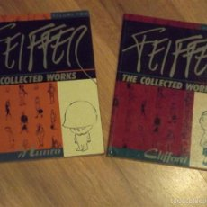 Cómics: JULES FEIFFER- THE COLLECTED WORKS 1 Y 2. FANTAGRAPHICS- INGLÉS. Lote 55705307