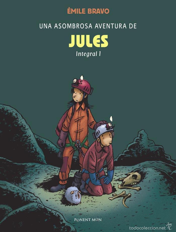 CÓMICS. UNA ASOMBROSA AVENTURA DE JULES INTEGRAL 1 - ÉMILE BRAVO (CARTONÉ) (Tebeos y Comics - Comics otras Editoriales Actuales)