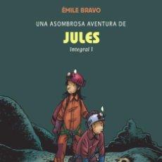 Cómics: CÓMICS. UNA ASOMBROSA AVENTURA DE JULES INTEGRAL 1 - ÉMILE BRAVO (CARTONÉ). Lote 55781169