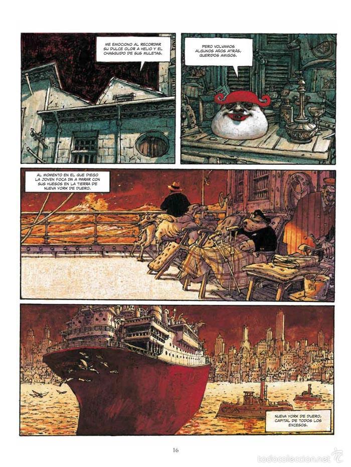 Cómics: Cómics. El Bibendum celeste integral - Nicolas de Crécy (Cartoné) - Foto 2 - 55787556