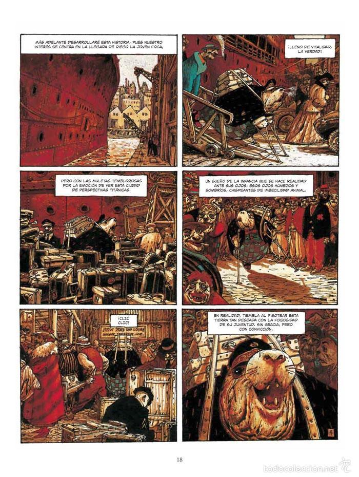 Cómics: Cómics. El Bibendum celeste integral - Nicolas de Crécy (Cartoné) - Foto 4 - 55787556