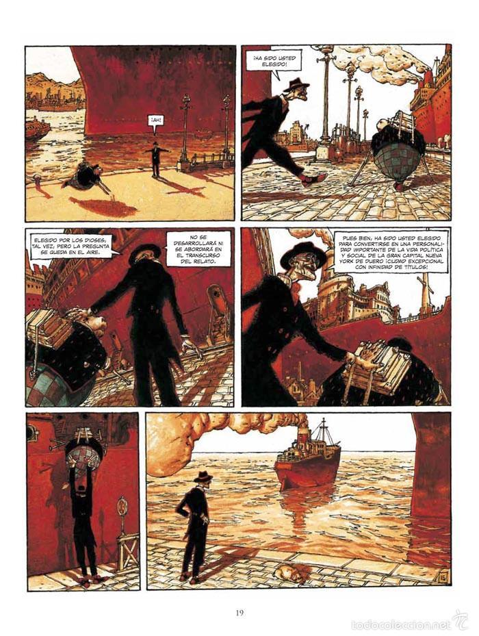 Cómics: Cómics. El Bibendum celeste integral - Nicolas de Crécy (Cartoné) - Foto 5 - 55787556
