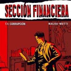 Cómics: SECCIÓN FINANCIERA, TOMO 1 - MALKA & MUTTI - GLÉNAT. Lote 55801360