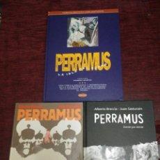 Cómics: PERRAMUS (COLECCION COMPLETA) - BRECCIA Y SASTURAIN (LUMEN, EDICIONES B Y ED. FLOR). Lote 55882545