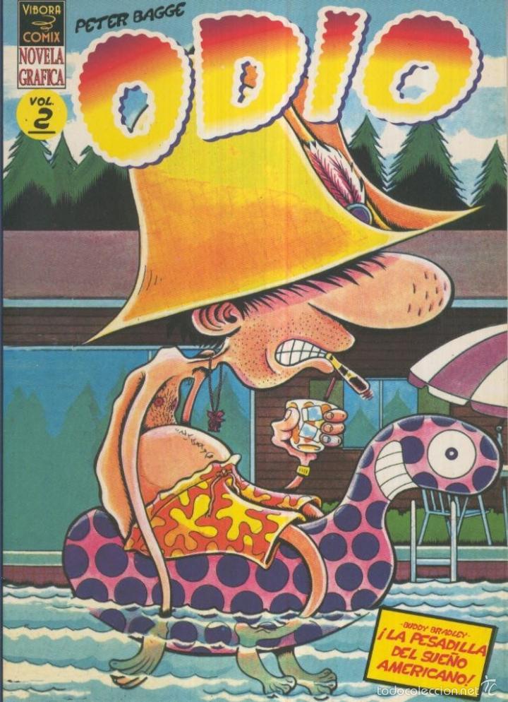 ODIO, VOL.2: LA PESADILLA DEL SUEO AMERICANO (VIBORA) (Tebeos y Comics Pendientes de Clasificar)