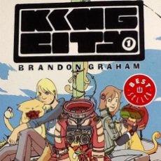 Cómics: KING CITY 1. BRANDON GRAHAM. Lote 55903176