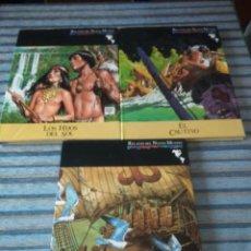 Cómics: RELATOS DEL NUEVO MUNDO EDIC. LIMITADA (COMPLETA)-HERNANDEZ PALACIOS-SOCIEDAD QUINTO CENTENARIO 1991. Lote 55911048