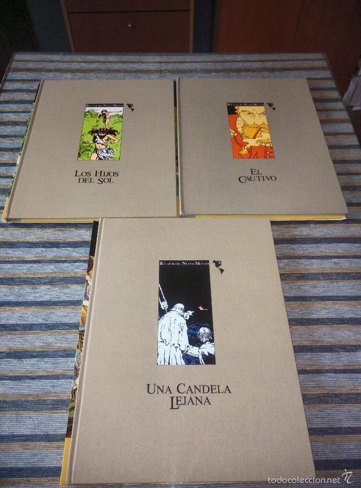 Cómics: RELATOS DEL NUEVO MUNDO EDIC. LIMITADA (COMPLETA)-HERNANDEZ PALACIOS-SOCIEDAD QUINTO CENTENARIO 1991 - Foto 2 - 55911048