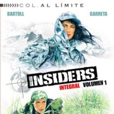 Cómics: CÓMICS. INSIDERS INTEGRAL VOL. 01 - JEAN-CLAUDE BARTOLL/RENAUD GARRETA (CARTONÉ). Lote 56013153