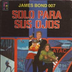 Cómics: COMIC-SOLO PARA SUS OJOS JAMES BOND 007 ADAPATCION AL COMIC EDIC.RECREATIVAS 1981. Lote 243521135