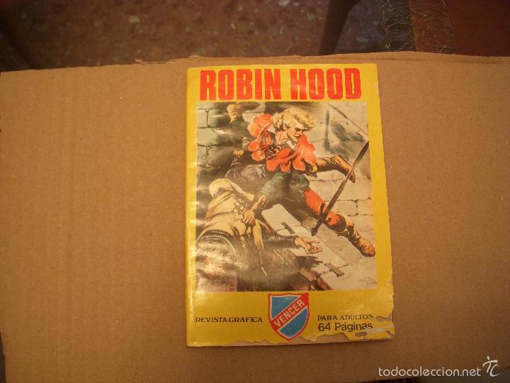 ROBIN HOOD, REVISTA GRÁFICA, DE PRODUCCIONES EDITORIALES (Tebeos y Comics - Comics otras Editoriales Actuales)