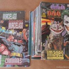 Cómics: ED ZINCO LEYENDAS; 1989 DE BATMAN 44 EJEM. 1995 DEL MURCIELAGO 1 2 -COMPLETA- CON BOLSAS PROTECTORAS. Lote 56114261