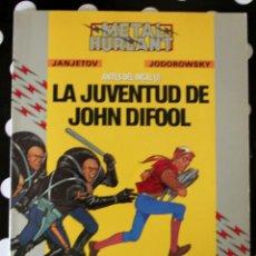Cómics: COLECCION HUMANOIDES METAL HURLANT LA JUVENTUD DE JOHN DIFOOL. Lote 56203805
