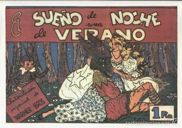 PELICULAS CISNE: EL SUEÑO DE UNA NOCHE DE VERANO (Tebeos y Comics Pendientes de Clasificar)