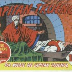 Cómics: EL CAPITAN TRUENO FACSIMIL NUMERO 136: LA MUERTE DEL CAPITAN TRUENO. Lote 56230624