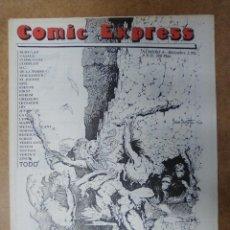 Cómics: COMIC EXPRESS Nº 4 DICIEMBRE 1992 (CATALOGO DE COMICS) - OFM15. Lote 56263239