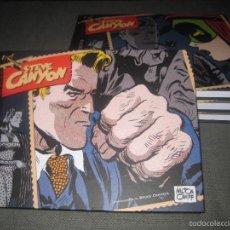 Cómics: STEVE CANYON 4 TOMOS COLECCIÓN COMPLETA TOTALMENTE NUEVA. EDITORIAL KRAKEN. Lote 106464003