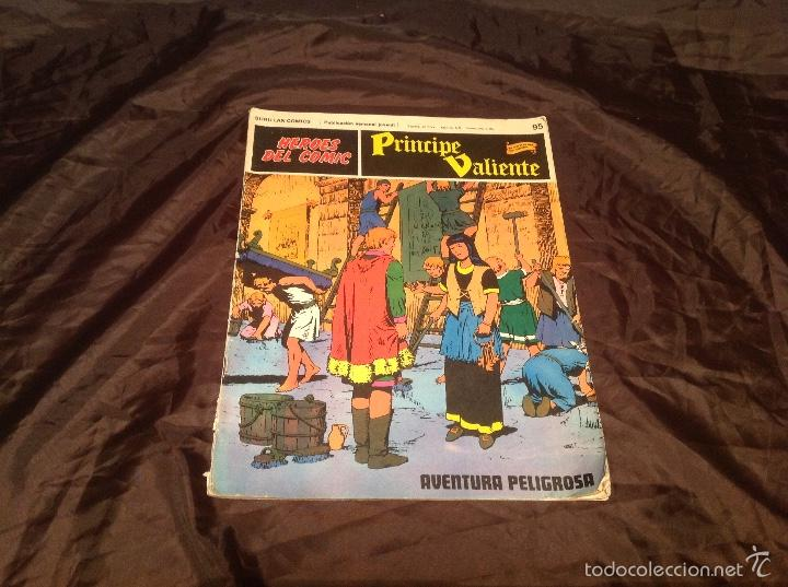 COMIC PRÍNCIPE VALIENTE NÚMERO 95 BURU LAN AVENTURA PELIGROSA 1973 (Tebeos y Comics - Buru-Lan - Principe Valiente)