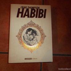 Cómics: HABIBI, COMIX EN FRANCES DE CRAIG THOMPSON, CASTERMAN ESCRITURES, 2011, 672 PAGINAS,17X24 . Lote 56381892