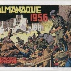 Cómics: HAZAAS BELICAS ALMANAQUE FACSIMIL 1956. Lote 56475647