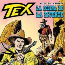 Cómics: CÓMICS. TEX. LA COLINA DE LA MUERTE - CLAUDIO NIZZI/VÍCTOR DE LA FUENTE (CARTONÉ). Lote 180855322
