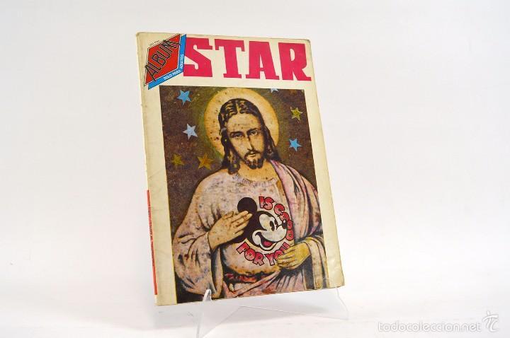 ÁLBUM STAR Nº 18 , REVISTAS STAR NºS. 56 Y 57. PRODUCCIONES EDITORIALES. VINTAGE. COMIC UNDERGROUND (Tebeos y Comics - Comics otras Editoriales Actuales)