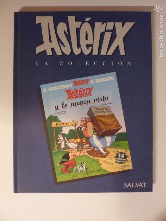 ASTÉRIX Y LO NUNCA VISTO / RENÉ GOSCINNY Y ALBERT UDERZO / ASTÉRIX LA COLECCIÓN (Tebeos y Comics - Comics otras Editoriales Actuales)