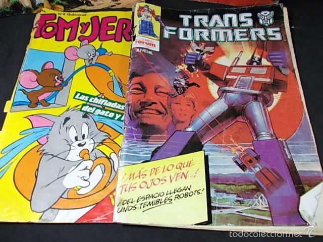 LOTE DE COMICS (Tebeos y Comics Pendientes de Clasificar)