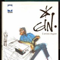 Cómics: TEBEOS-COMICS CANDY - GIN L'ARTISTA ELEGANT - LIBRO RARISIMO 250 PGS *XX99. Lote 56576842