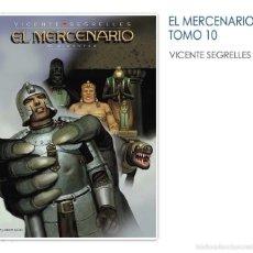 Cómics: EL MERCENARIO VOL. 10 - GIGANTES V. SEGRELLES PONENT MON. Lote 56616904
