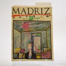 Cómics: MADRIZ Nº 22, NOVIEMBRE 1985. Lote 56716556