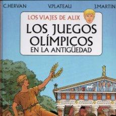 Cómics: LOS VIAJES DE ALIX LOS JUEGOS OLIMPICOS GLENAT. Lote 156365590