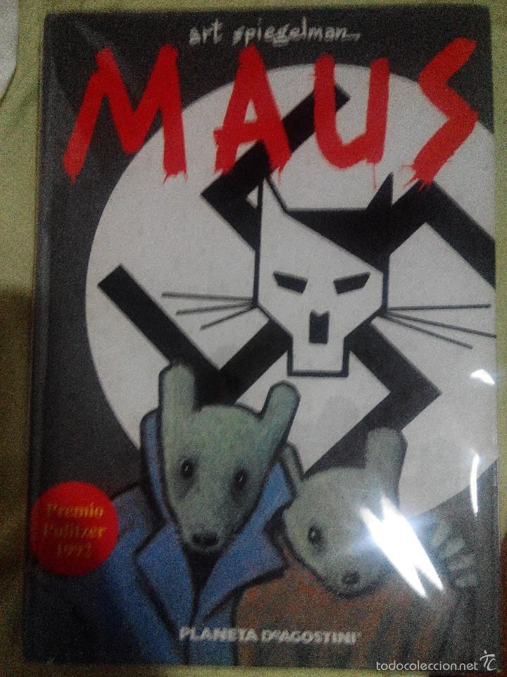 MAUS COMIC ART SPIEGELMAN PLANETA DE AGOSTINI (Tebeos y Comics Pendientes de Clasificar)