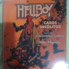 Cómics: HELLBOY CASOS INSOLITOS MIKE MIGNOLA GREG RUCKA NUEVO. Lote 56748592