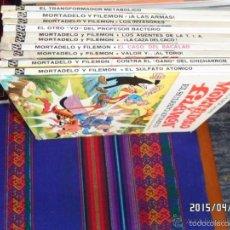 Cómics: ASES DEL HUMOR MORTADELO. LOTE 1 4 5 6 9 14 16 24 26 29. BRUGUERA. NºS 11 15 DE REGALO. SUELTOS. Lote 19936322