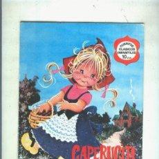 Cómics: CUENTOS CLASICOS INFANTILES NUMERO 03: CAPERUCITA ROJA. Lote 56821502