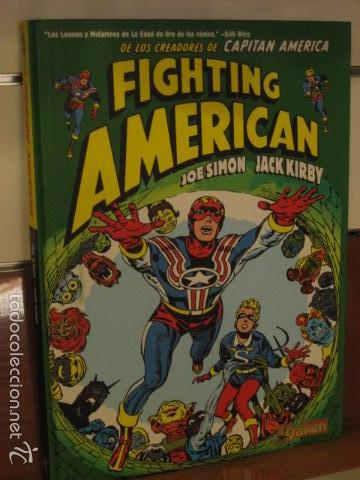FIGHTING AMERICAN JOE SIMON JACK KIRBY - KRAKEN OFERTA (Tebeos y Comics - Comics otras Editoriales Actuales)