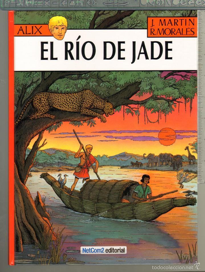 TEBEOS-COMICS CANDY - ALIX Nº 23 - 1ª ED. LIMITADA Y NUMERADA - EL RIO DE JADE - J. MARTIN *AA99 (Tebeos y Comics - Comics Colecciones y Lotes Avanzados)