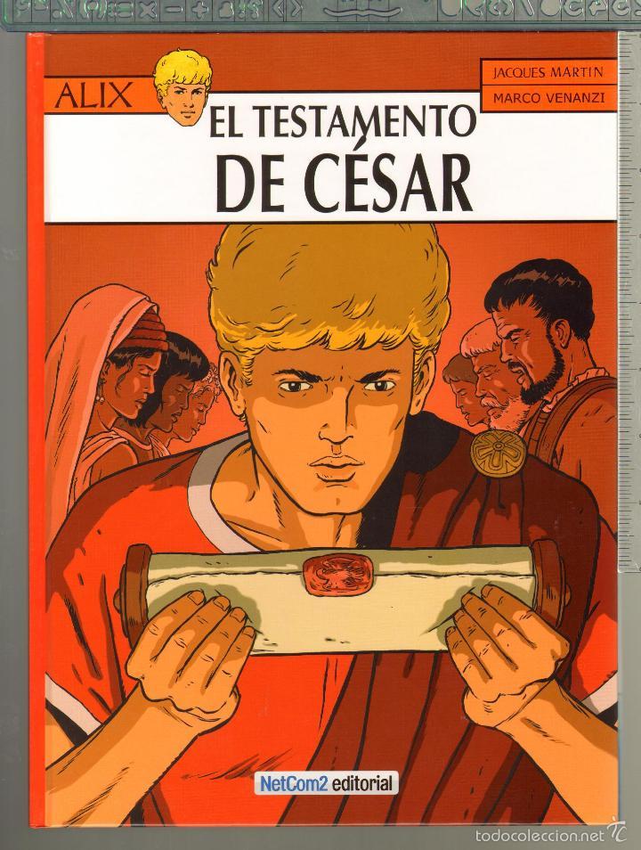 TEBEOS-COMICS CANDY - ALIX Nº 29 - 1ª ED. LIMITADA Y NUMERADA - TESTAMENTO DE CESAR- J. MARTIN *AA99 (Tebeos y Comics - Comics Colecciones y Lotes Avanzados)