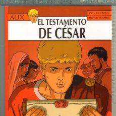Cómics: TEBEOS-COMICS CANDY - ALIX Nº 29 - 1ª ED. LIMITADA Y NUMERADA - TESTAMENTO DE CESAR- J. MARTIN *AA99. Lote 56971193