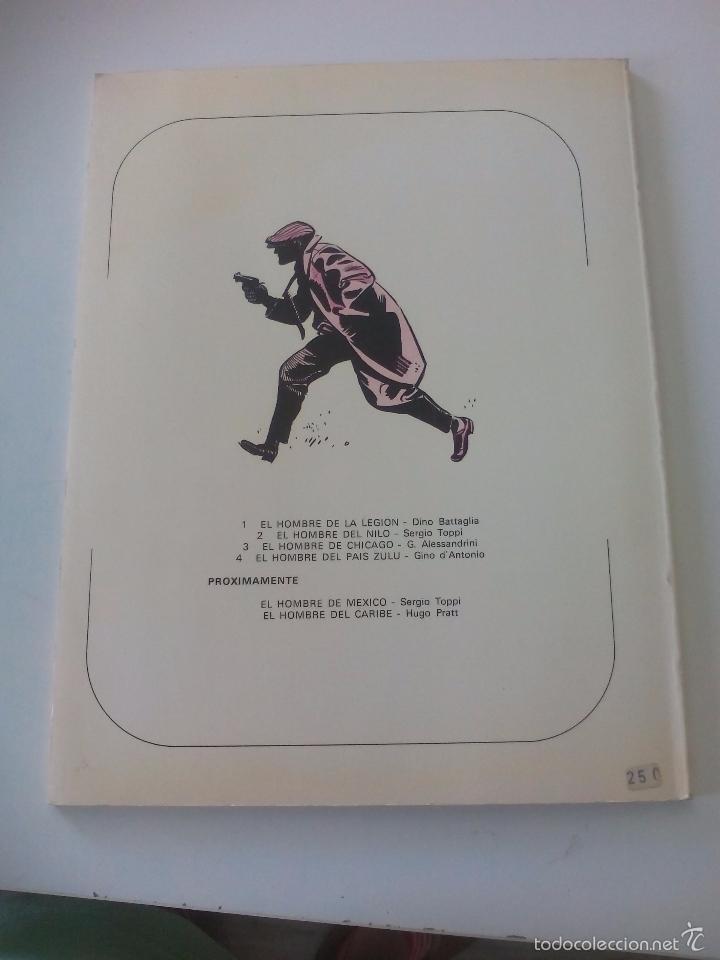 Cómics: El Hombre de Chicago. G. Alessandrini. Un Hombre una Aventura nº 3. 1979. Ediciones Junior, Grijalbo - Foto 5 - 56998135