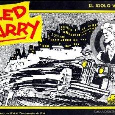 Cómics: RED BARRY EL IDOLO VERDE 19/3/ 1934 A 17/11/1934 WILL GOULD EDICIONES B.O.AÑO 1982 CAJA NOVARO 2. Lote 57122834